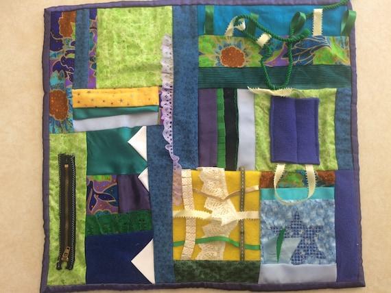 Fidget Quilt / Sensory Blanket - Jewels