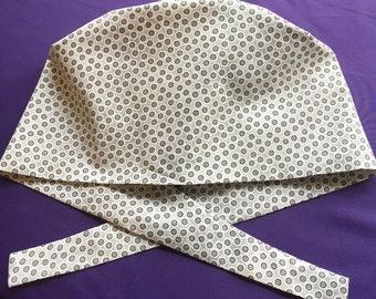 Soft Grays • pixie tie back style