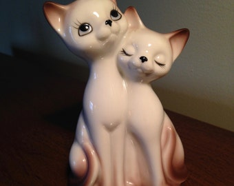 cat kitten porcelain night light