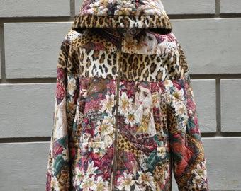 1990s Kenzo grunge hood jacket