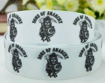 Sons of Anarchy, Soa, Sons, Jax Teller  Grosgrain ribbon