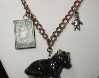 The Jungle Book Book Necklace - Great Gift for Book Lovers!