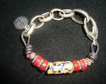 venetian trade bead bracelet