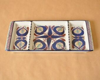 Royal Copenhagen Fajance tray - Tenera - 152/2879 - Marianne Johnson - trinket dish - snack bowl - Mari