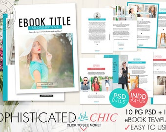 12 page ebook template indesign indd photoshop psd 10 page ebook template indesign indd photoshop psd instant download pronofoot35fo Choice Image