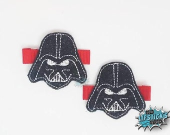 Dark Lord of the Sith hair clips
