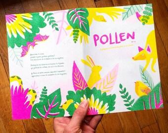 Pollen , le fanzine dédié à la Nature + le Calendrier perpétuel des fruits & légumes de saison