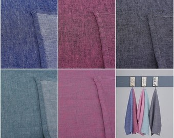 Wholesale 10 x Linen Tea Towels Coloured / New Spring Collection