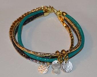 Layered Charm Bracelet
