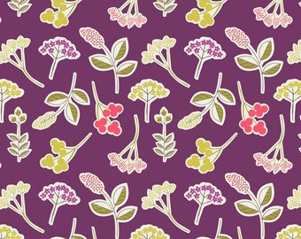 Lewis & Irene 'DISCOUNTED Clearance Price' Arboretum A028-2 Forest Fruit Patchwork Quilting Fabric