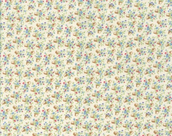 Fabric Freedom 'Reduced Price' F897-3 English Teatime Patchwork Quilting