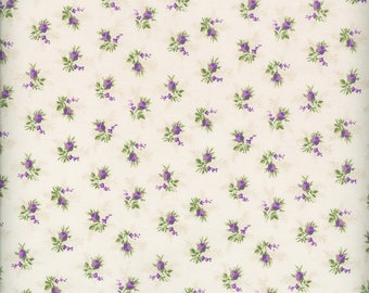 Fabric Freedom 'Reduced Price' F900-3 English Teatime Rosebud Patchwork Quilting