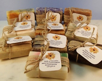 Various unscented Soap - All Natural Soap - Various Types
