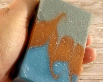 the Perfect Man, Handmade Soap, grapefruit, bergamot, lemon, Handmade Soap, Soap for women, All Natural Soap,
