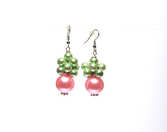 Cluster Alpha Kappa earrings