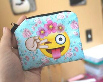 Kawaii Coin Purse, Kawaii Wallet, Pastel Kawaii Wallet, Pastel Goth Wallet, Pastel Goth Change Purse, Pastel Goth Accessories, Pastel Pink