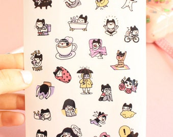 I AM RANDOM - Planner stickers - 1 page