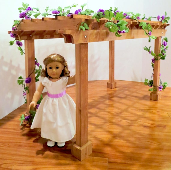 Doll PERGOLA For American Girl ®, 18-inch Dolls