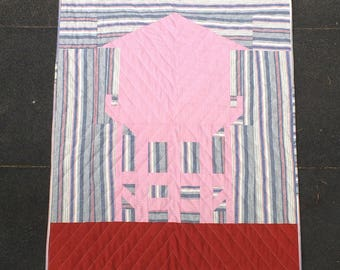 Brooklyn Water Tower Baby Quilt or Playmat - NYC inspired