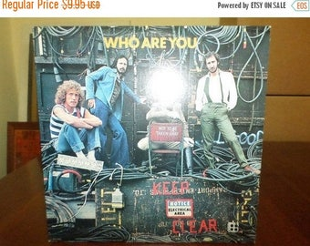 Save 30% Today Vintage 1978 LP Record The Who MCA Records 3050 Who Are You Excellent Condition 6956