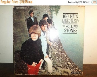 Save 30% Today Vintage 1966 Vinyl LP Record The Rolling Stones Big Hits High Tide and Green Grass Stereo Very Good Condition 10553