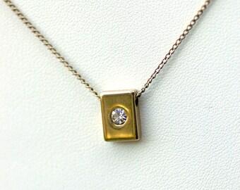 Park Lane Rhinestone Necklace Vintage