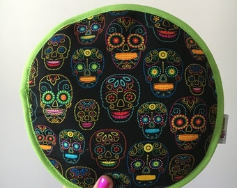 Tortilla warmer (Model fluor skull)