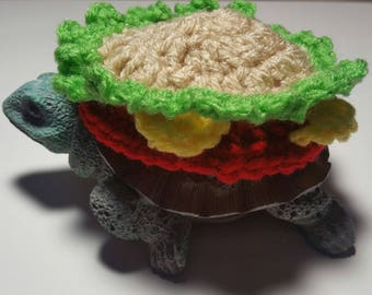 Cheeseburger Costume for Turtles/ Tortoises