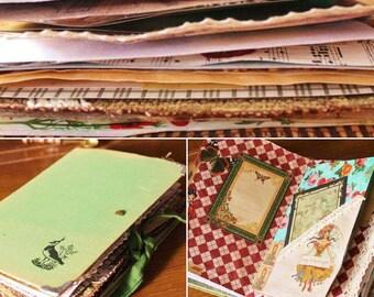 Smash Book, Junk Journal add your own imagination, Scrap book