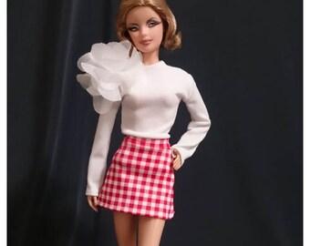 Dolls dress for Fashion royalty,,Silkstone,All barbie doll- No.0014
