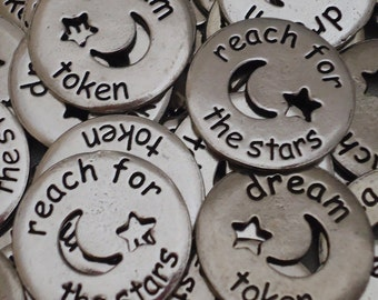 Dream - Reach for the Stars Pocket Pieces - SET OF 10