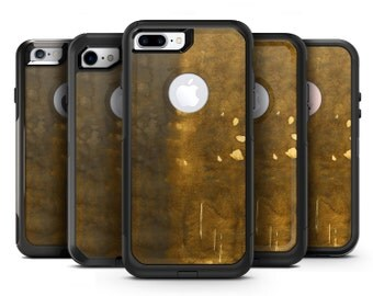 Stained Watercolor with Gold Specks - OtterBox Case Skin-Kit for the iPhone, Galaxy & More