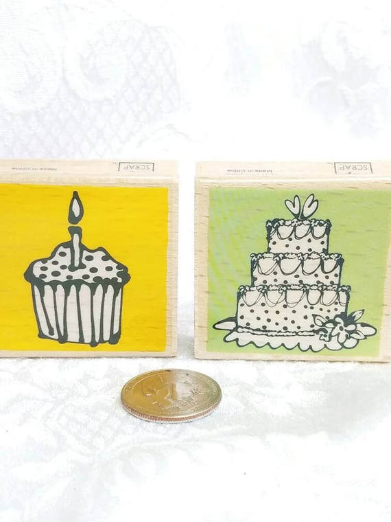 cup cake rubber stamp wedding cake rubber stamp vap scrap cake stamp birthday stamp cup cake. Black Bedroom Furniture Sets. Home Design Ideas