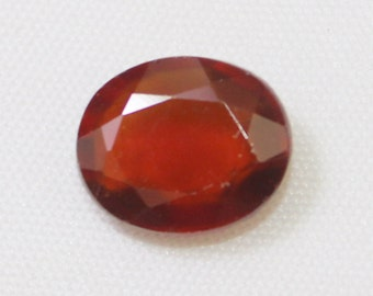 4.60 carat Natural Hassonite garnet faceted cut loose gemstone size 11.30 mm x 9.30 mm x 4.60 mm  approx. 0161