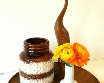 Scheurich keramik vase 289-15 1970s wgp