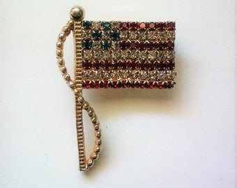 American Flag Pin by Rafleain - 5277