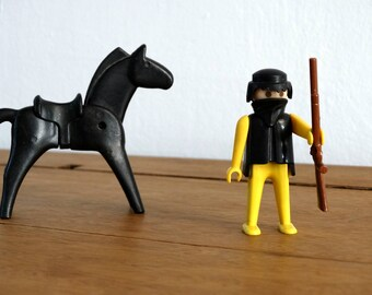 1974 Geobra Playmobil, Playmobil, Cowboy With Horse, playmobile People, Playmobil Figure, Playmobile, Playmobil Set, Playmobile Cowboy