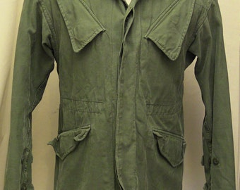 Triple Layered Thick Green Military Jacket (chest size 40 Inches 102cm)