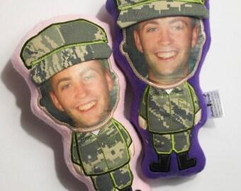 deployment dolls, huggable dolls, military doll