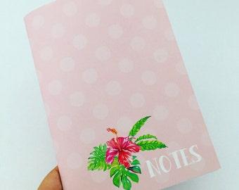Notebook - PINK HIBISCUS