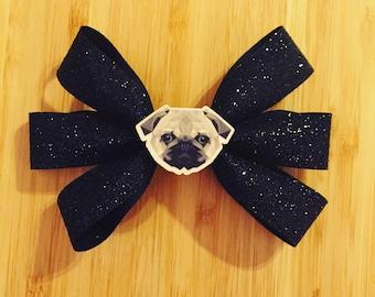 Pug Hair Bow
