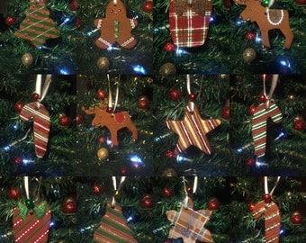 Cinnamon Holiday Christmas Ornaments x20
