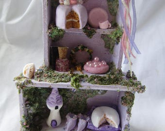Rapunzel faerie cupboard miniature