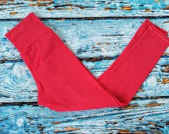 Leggings-Leggings For Women-Pink Leggings-Women's Leggings-Solid Color Leggings-Cotton Leggings-Comfort Leggings-Yoga Leggings