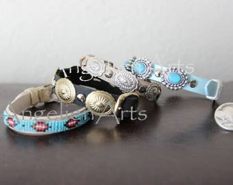 Angelien Arts - Artdoll Accessories Concho or Beaded Belt Native American Collectibles