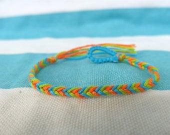 Fishtail Bracelet, Friendship Bracelet, Bracelet