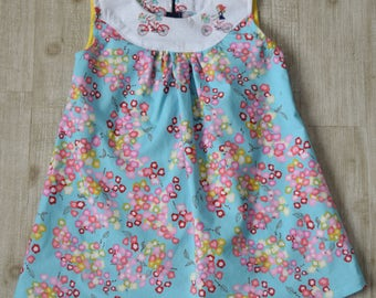 Girl Toddler Dress with floral prints