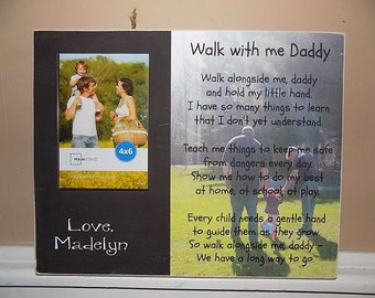 Personalized walk with me daddy