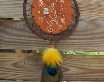"Dreamcatcher leather and pluck ""Koko"""