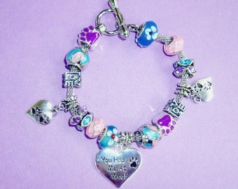 9-You Had Me at Woof ~ Pand*ra Style Charm Bracelet 1